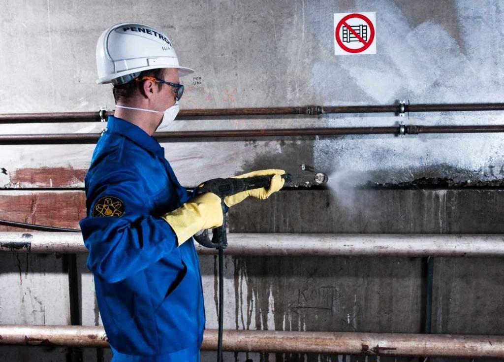 Инъекционная гидроизоляция - подготовительные работы