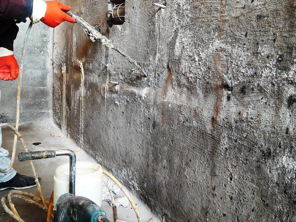 Инъекционная гидроизоляция - выполнение работ