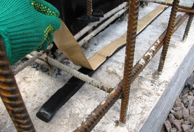 Подготовка поверхности под жгут Пенебар
