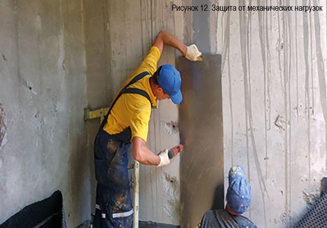 Защита ленты ПенеБанд от механических воздействий